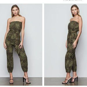 Good American Green Upgrade Strapless Jumpsuit - 1